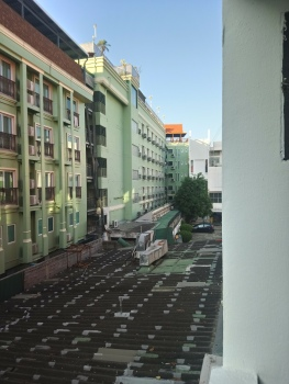 Bangkok - view from our hostel balcony