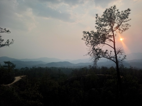 Sunset over Pai Canyon