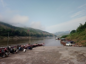 View from Pakbeng port