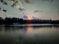 Sunset over Hoàn Kiếm Lake