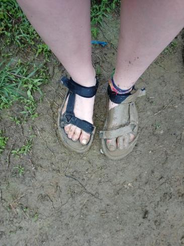 Still confident sandals were my best option