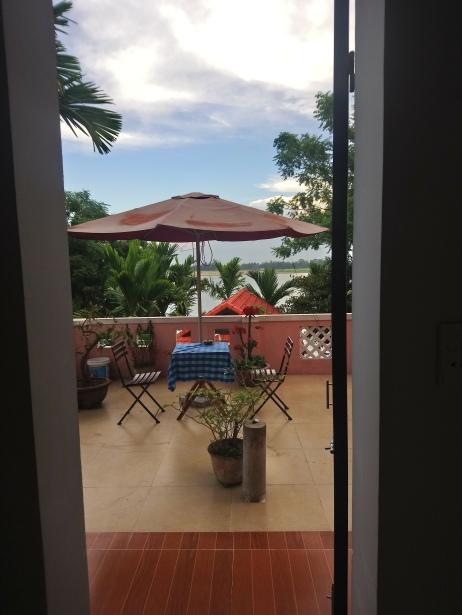 Homestay balcony