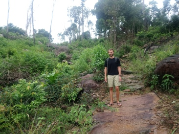 The trek...