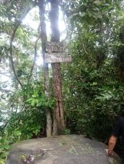 Where the descent began...