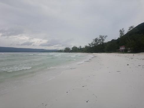 Finally reached the 6km beach