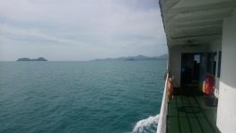 Approaching Koh Phangan