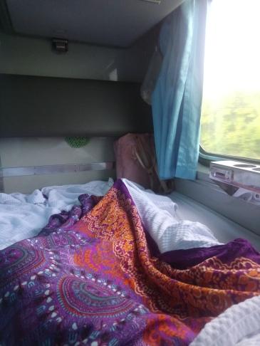 "My night train ""bed"""