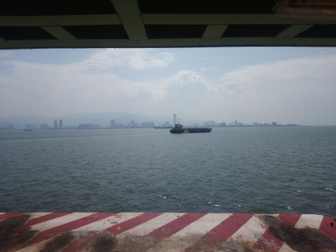 Penang finally in sight!